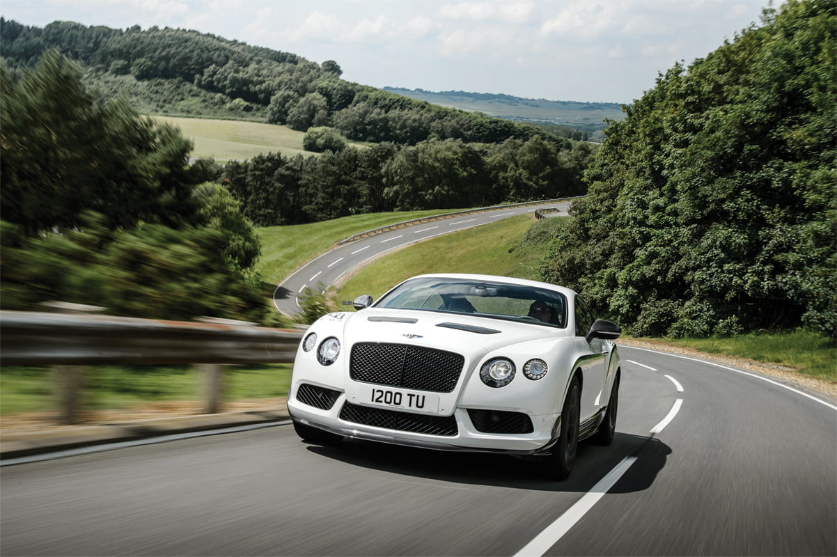Bentley's Continental GT3-R.