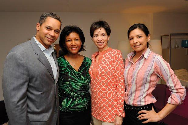 Dr. Dallas Lea, DeDe Lea, Lorna Gross-Bryant, Tere Mazariegos.