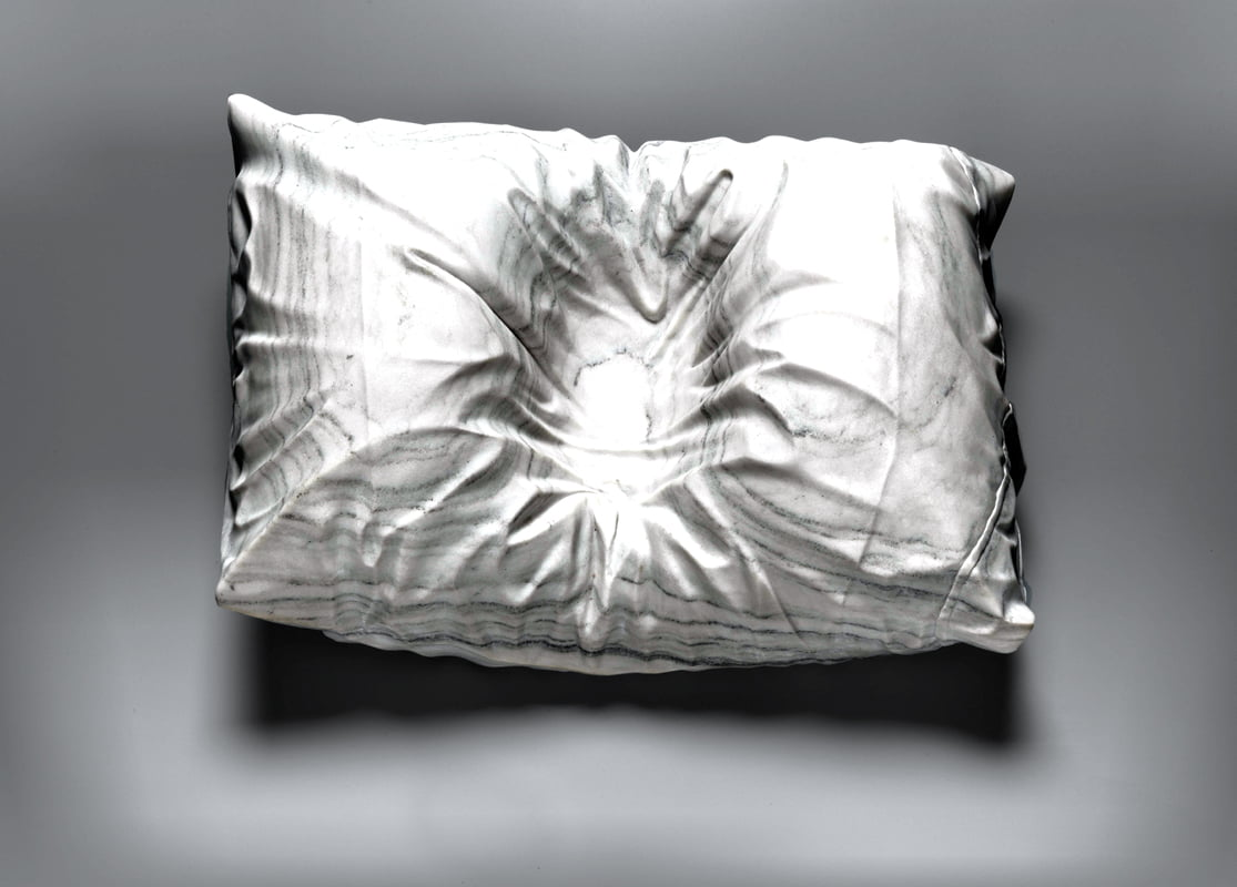 Impressions captures a family memory in a pillow. © Smithsonian American Art Museum