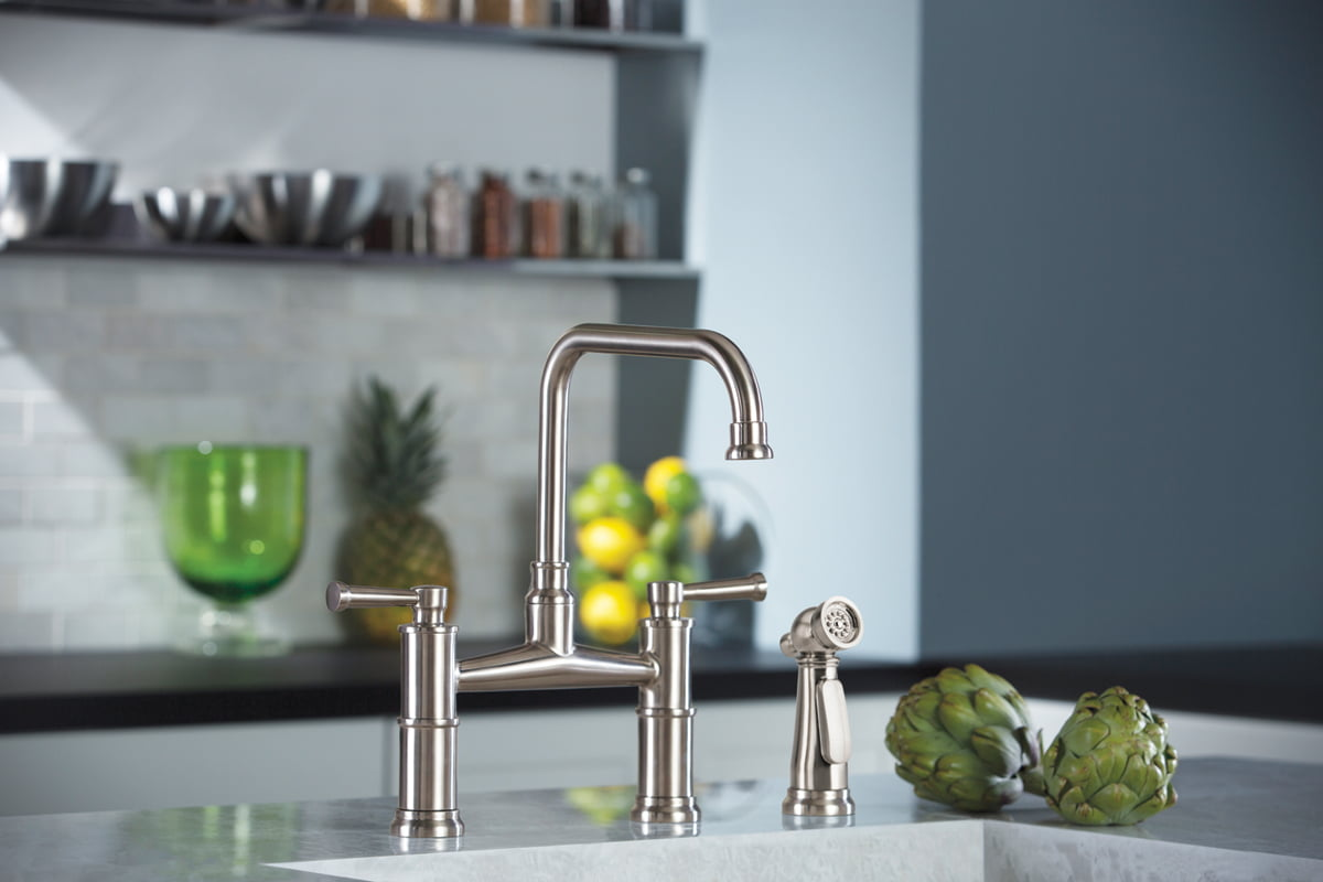 The Artesso kitchen collection of faucets by Brizo.