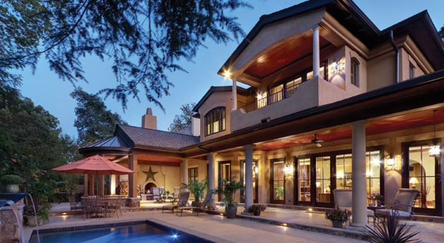 Custom builder 2012 awards home design magazine for 5000 sq ft home