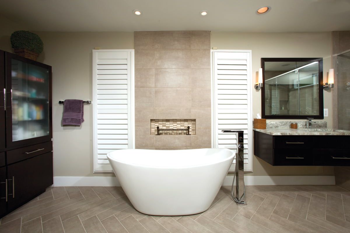 Grand, Residential Bath $30,000 to $60,000: Michael Nash Design, Build & Homes. © Greg Hadley