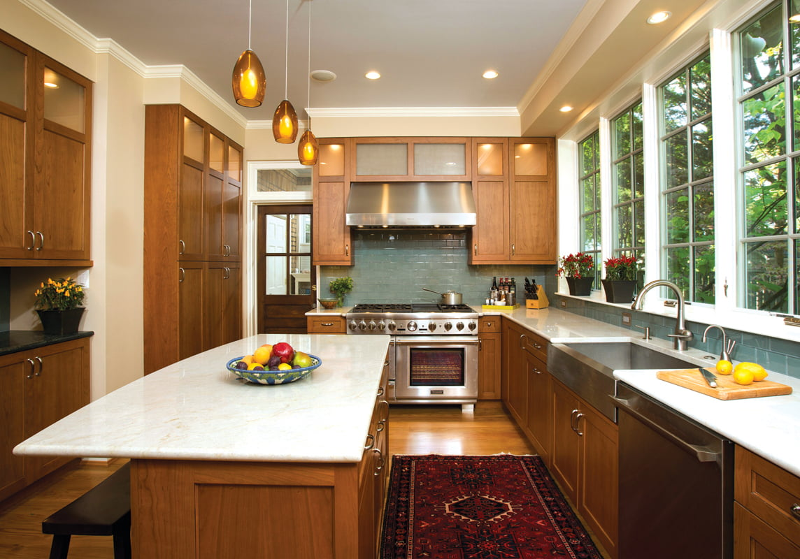 Grand, Residential Kitchen Over $120,000: Landis Construction. © Greg Hadley