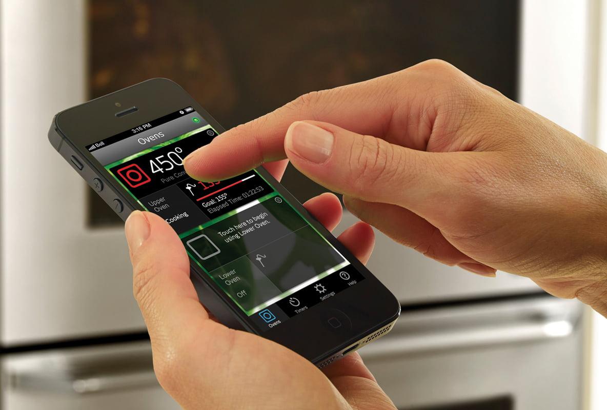 The Dacor iQ iOS app.