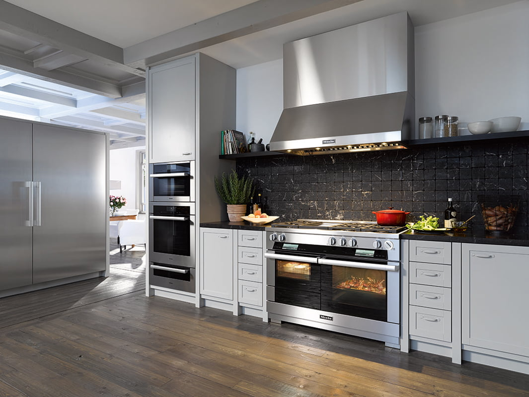 Miele's new Range cooktop series.