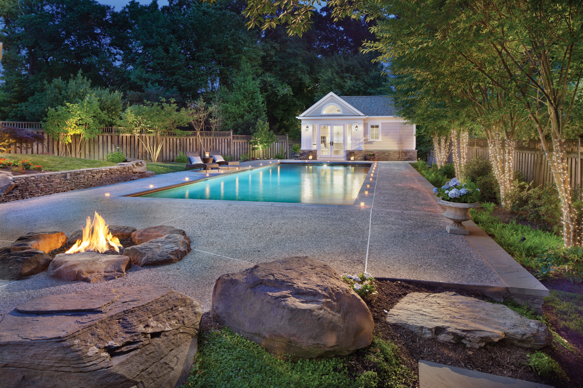 Backyard Oasis Home Design Magazine