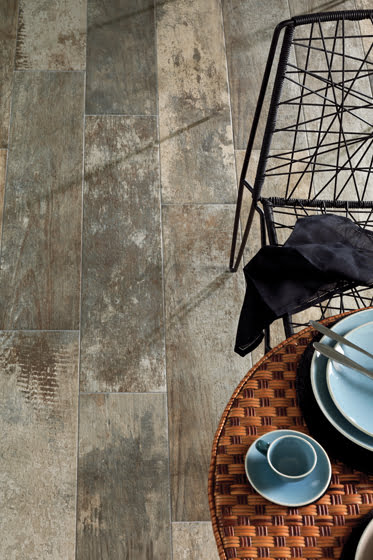 The Chaa Creek collection of porcelain flooring from Architectural Ceramics.