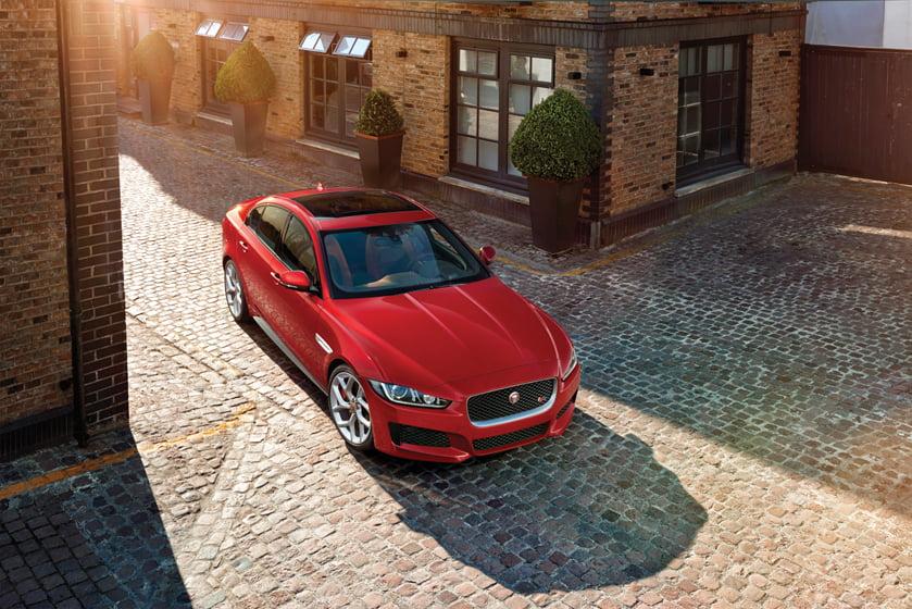 Jaguar's 2017 XE.