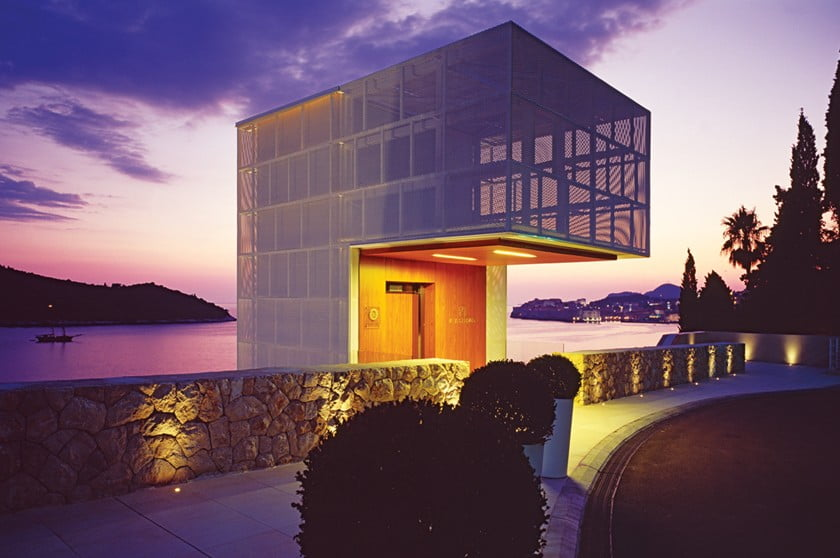 Breathtaking views of the the Adriatic from Villa Dubrovnik.