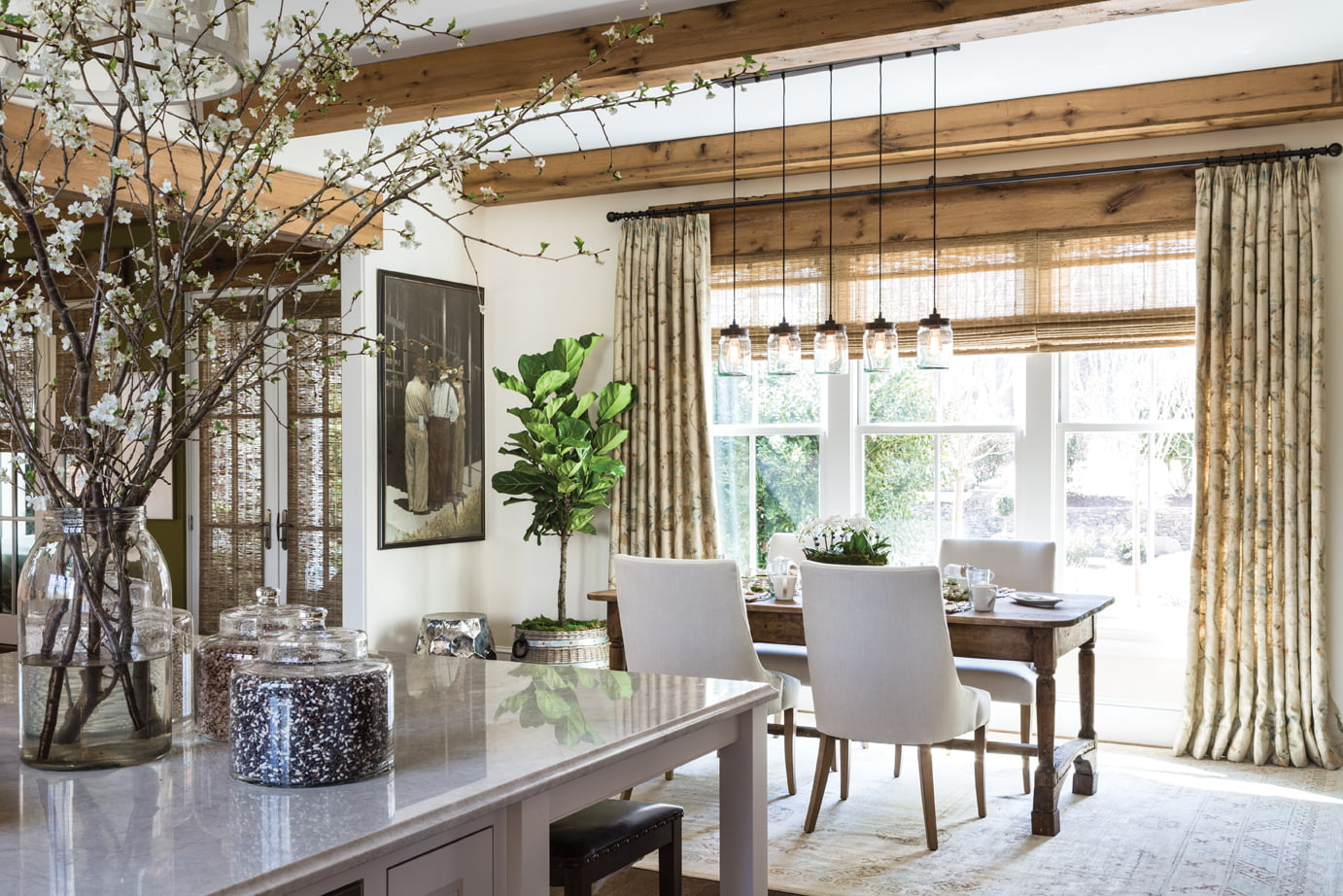 The Breakfast Area By Sarah Wessel Designs Ltd Show House Magic Home Design Magazine