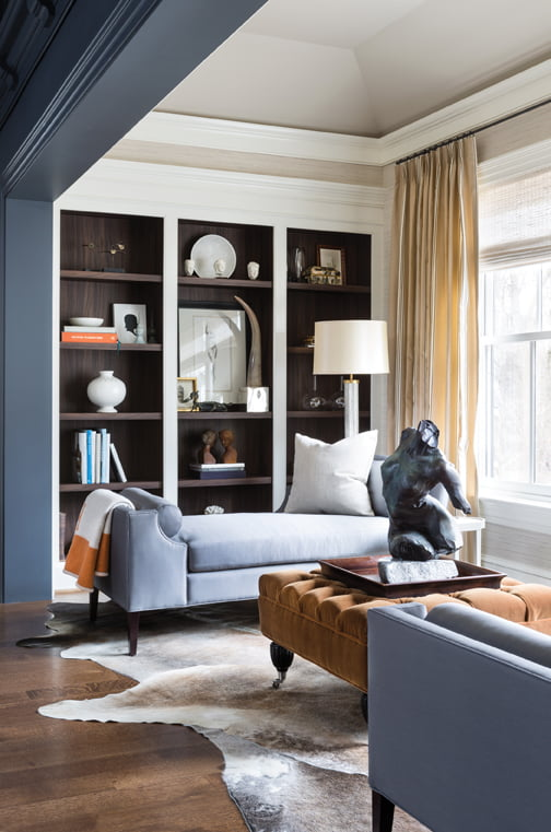 An alcove in the master bedroom, by Christopher Patrick.