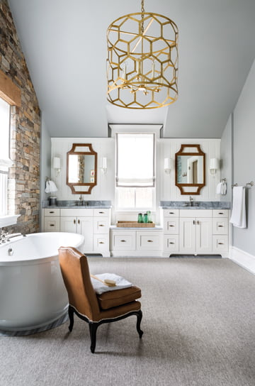 The master bathroom, by Christopher Patrick.