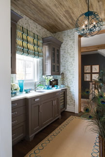 The butler's pantry, by Margery Wedderburn Interiors, LLC.