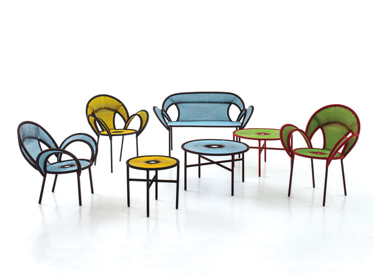 Sebastian Herkner's Banjooli Collection for Moroso.