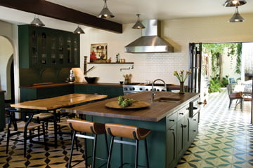 A residential kitchen designed by Commune.