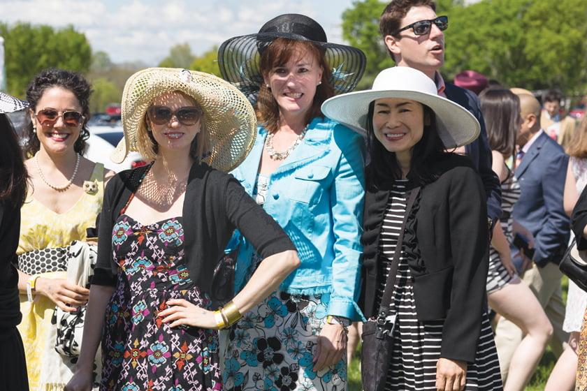 Lisa Smith, Kim Stevenson, Kelly Rizik, Wenli Lin.