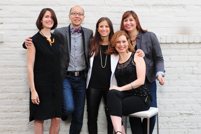 Kate Ballou, Charles Almonte, Liza Holder, Suzanne Manlove and Nicole Lanteri.