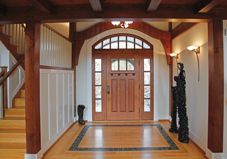 Foyer Door Frame : A hands on approach home design magazine