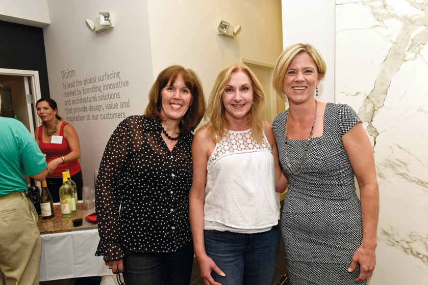 Caron Broadway, Paula Grace Halewski, Karen Germond.
