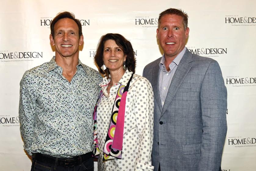 Scott Brinitzer, Eve Stockton, Michael Prokopchak.
