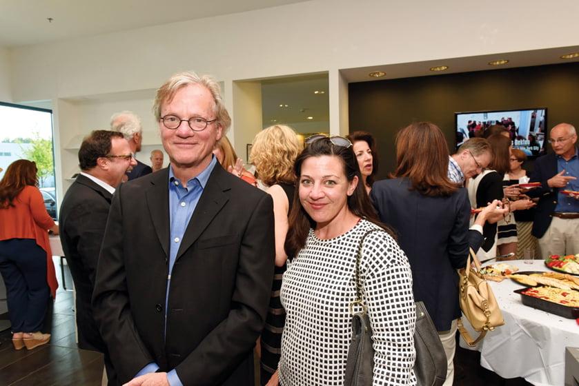 Mark McInturff, Jennifer Horn.