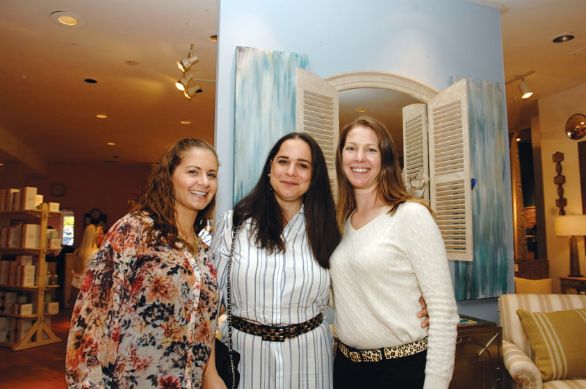 Jessica White, Katalin Farnady, Christine Simeone.