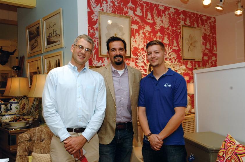 Christian Chute, Darren Kornas, Mike Reverdito.