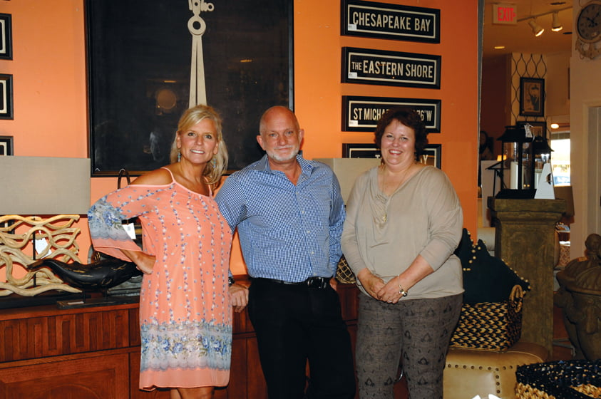 Bountiful's Denise Perkins, James Merida and Ellen Fink.