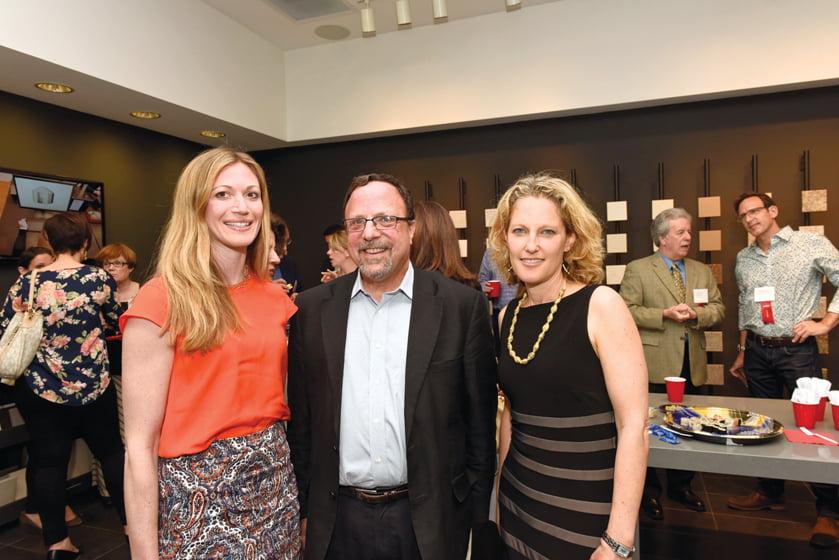 Carmel Greer, Randall Mars, Sharon Jaffe Dan.