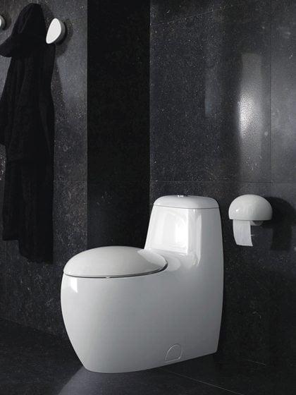 Laufen's ILBAGNOLESSI One toilet.