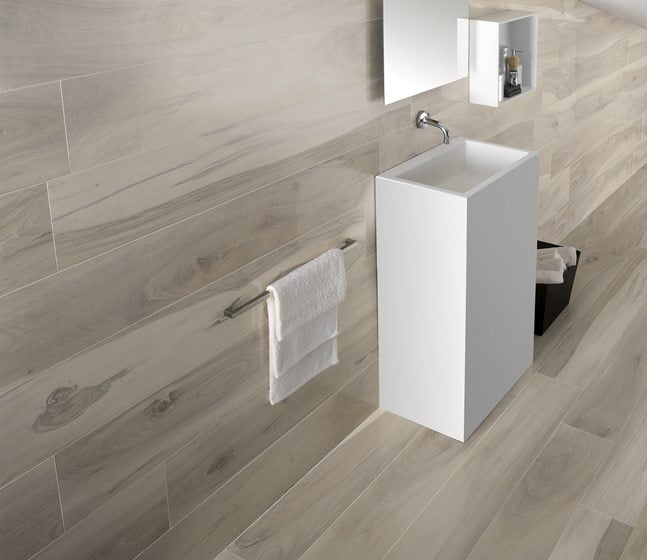 B&F Ceramics' porcelain tiles.