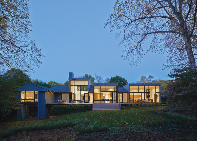 Twining Road Renovation, by Robert M. Gurney, FAIA Architect. © Anice Hoachlander