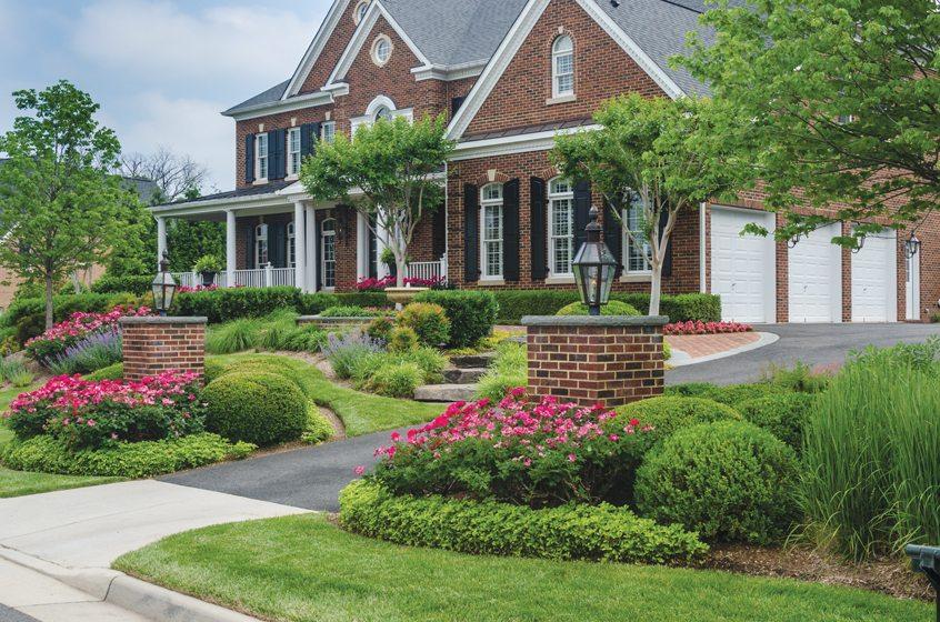 Mchale landscape design inc our story home design for Colonial landscape design