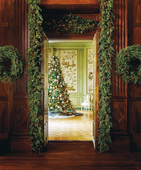 Donatella Amberly Manor Greenery Collection for Frontgate; $89-$249. frontgate.com