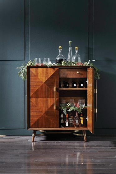 The Lasalle Bar from Mitchell Gold + Bob Williams; $1,496. mgbwhome.com