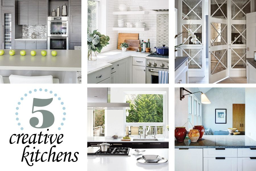 5 creative kitchens