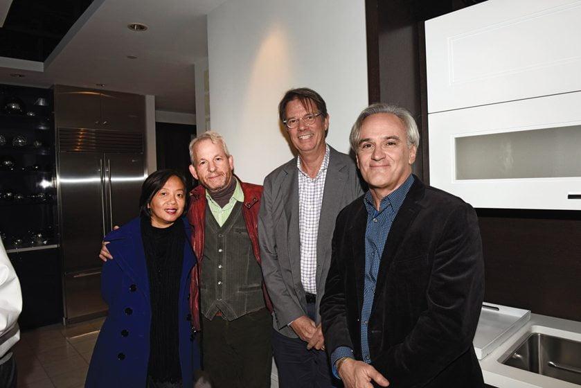 Alice Ng, Ken Wyner, Bruce Wentworth, Joe Gilday