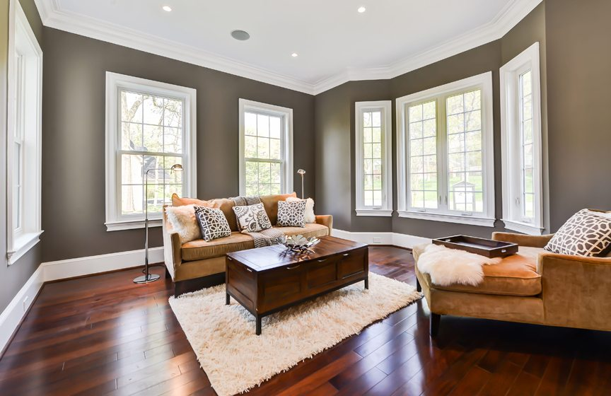 Long term commitment home design magazine for Living room with 10 foot ceiling