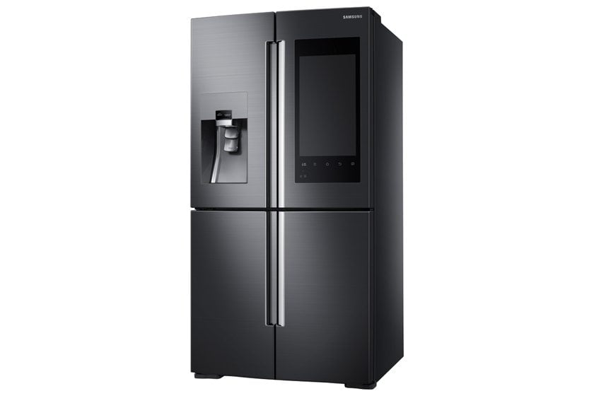 Samsung's Family Hub refrigerator.