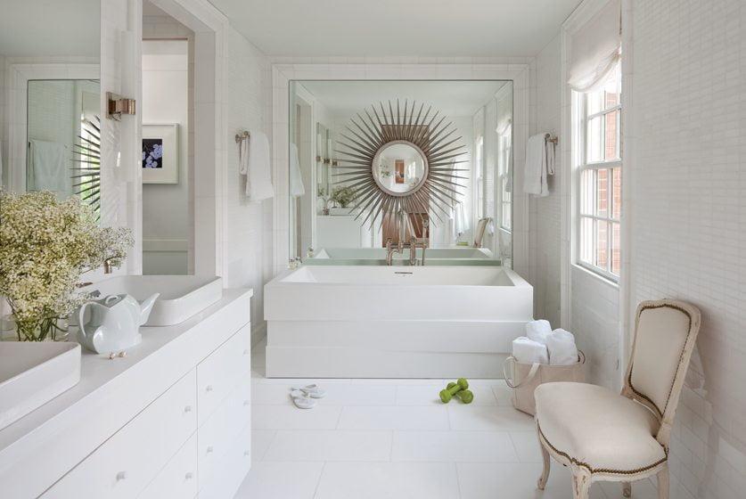 The master bath is sumptuous. © Ron Blunt