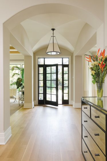 Foyer Ceiling Designs : Out of the ashes home design magazine