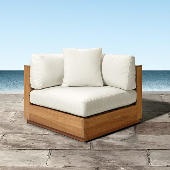 The Bal Harbour Outdoor Sectional from Arhaus.