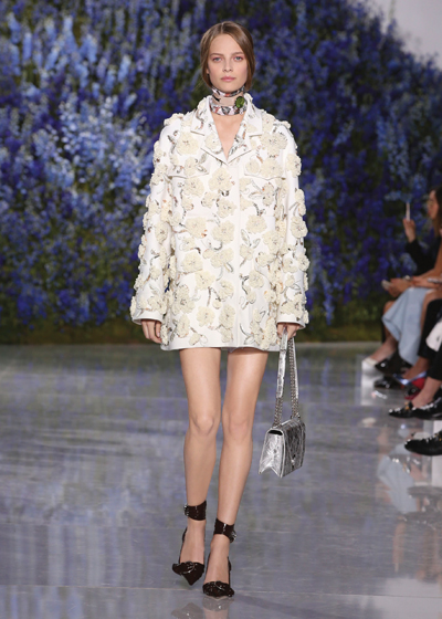 A jacket from Dior's 2016 ready-to-wear Spring collection.