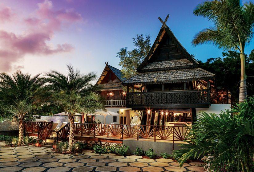The Zemi Thai Beach House resort in Anguilla. © Tambourine/Dylan Cross