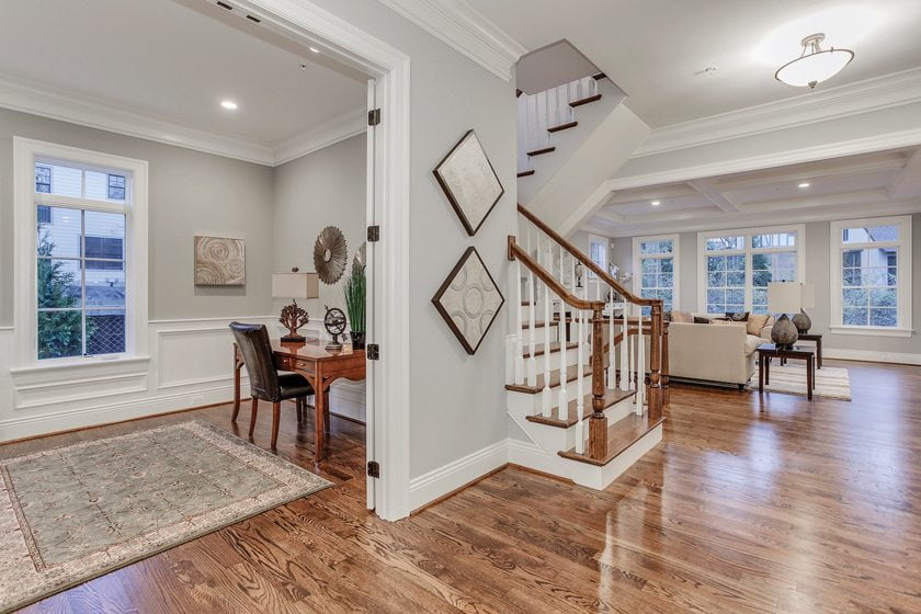 A spacious, open plan in the Whittier, another winning house by Castlewood Consulting.