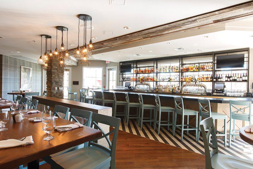 Knoxie's Table, a restaurant at The Inn at the Chesapeake Bay Beach Club.