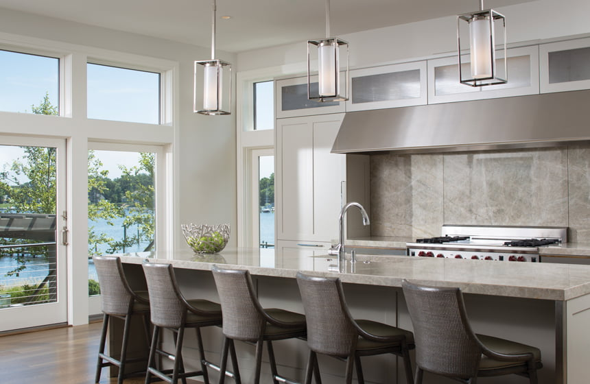 Lovely With Its Clean Lined Style And Organic Material Palette, An Annapolis  Kitchen By Scarlett Awesome Design