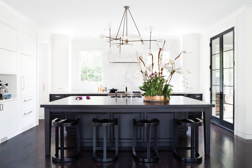 Meyer and architect Donald Lococo collaborated on the bold new kitchen.
