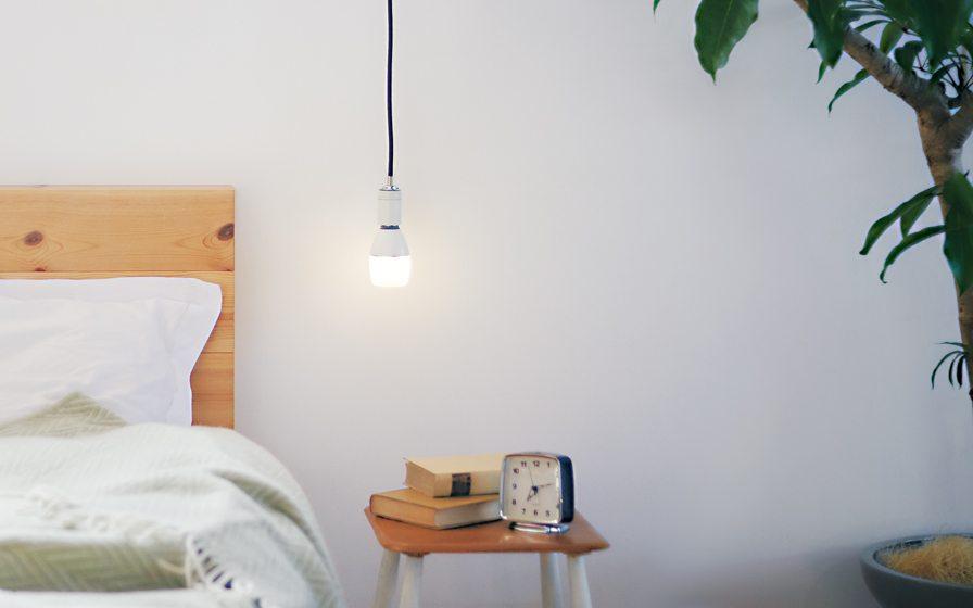 Sony's LED Bulb Speaker, a Life Space UX design.