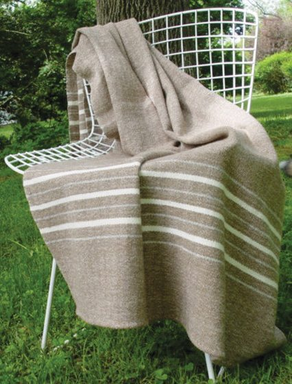 Nordt won a First Time Exhibitor Award at the 2016 Smithsonian Craft Show for her blankets.